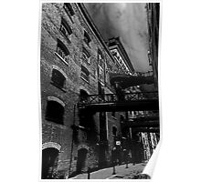 Butlers Wharf Art Poster