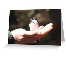 Big Hands, Gentle Heart Greeting Card