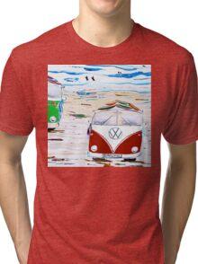 Kombi Van Crew Tri-blend T-Shirt