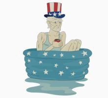 Uncle Sam Stays Cool by Look Human
