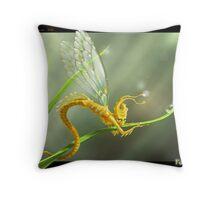Fairy Bug Throw Pillow