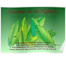 Hosanna in the Highest! Poster