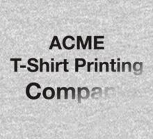 ACME T-Shirt by ReZourceman