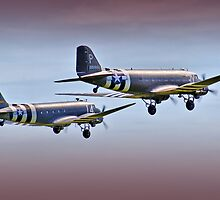 DC3 Take Off  -  !  Duxford 26.05.2013 by Colin  Williams Photography