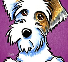 Sealyham Terrier Off-Leash Art™ Just Plum Fun by offleashart