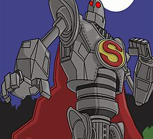 Iron Giant as Superman by AngelGirl21030