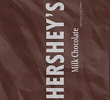 Hershey Bar iPhone Case by Justamere