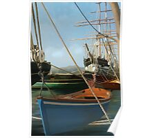 San Francisco Boats from peir. Poster