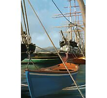San Francisco Boats from peir. Photographic Print