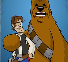 Han And Chewie by AngelGirl21030