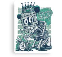 MUM DRUMMER T-SHIRT Canvas Print