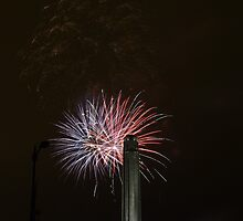 "Fireworks at ""Celebration At The Station""  by David Shayani"