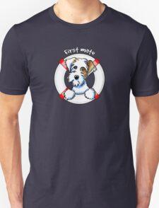 Sealyham Terrier Badger :: First Mate Unisex T-Shirt