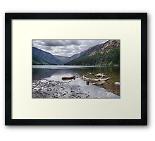 Upper Lake Framed Print