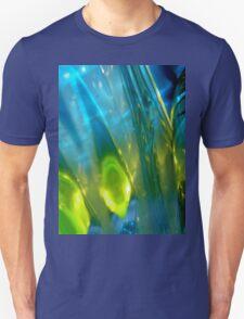 Blue Abstract Tee #4 T-Shirt