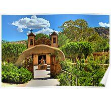 Santuario de Chimayó Church in New Mexico  Poster