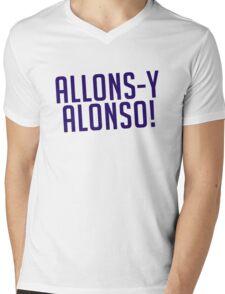 Allons-y Alonso! Mens V-Neck T-Shirt