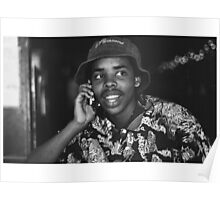 """new phone who dis"" Earl Sweatshirt Poster"