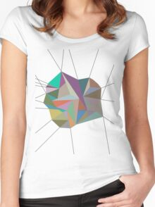 Born the Line Women's Fitted Scoop T-Shirt