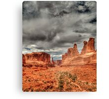 Arches National Park - Wall Street Canvas Print