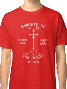 Knights of the Blood Guild Shirt Classic T-Shirt