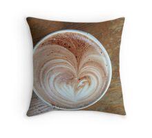Hot Chocolart Throw Pillow