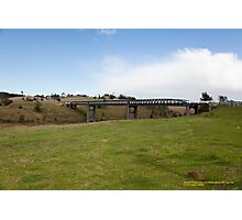 Elderslie Bridge -Hunter Valley, NSW Australia Photographic Print