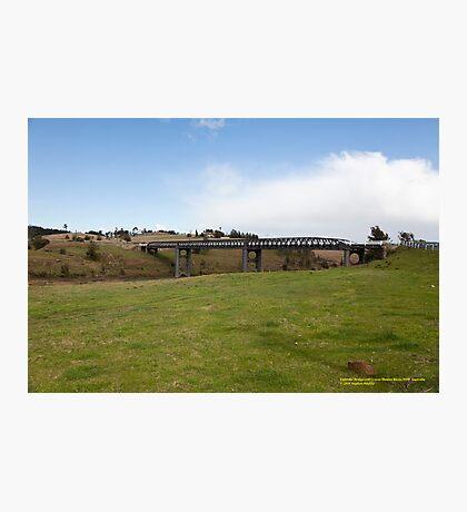 Elderslie Bridge -Hunter Valley, NSW Australia Photographic Print