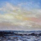 Winter Sun II West Coast Seascape by TerrillWelch
