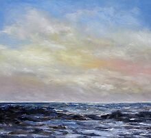 Winter Sun II West Coast Seascape by TerrillWelch