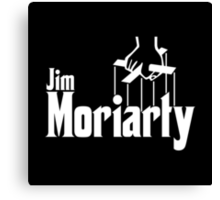 Jim Moriarty (Sherlock) Canvas Print