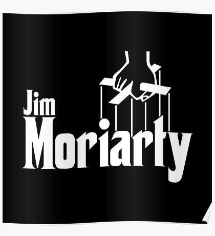 Jim Moriarty (Sherlock) Poster