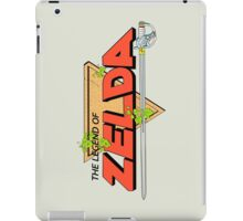 The Legend of Zelda Logo iPad Case/Skin