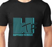 WTF Happened? Turqoiuse Unisex T-Shirt