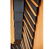 Opera House Materials Photographic Print