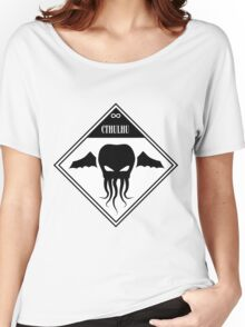 Cthulhu Shipping Placard Women's Relaxed Fit T-Shirt