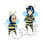 Bee! Johnlock by Voodooling