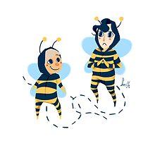 Bee! Johnlock by Voodooling