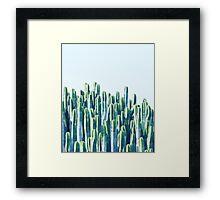 Cactus V2 #redbubble #home #lifestyle #buyart #decor Framed Print