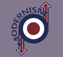 Modernism mod target and arrows Kids Clothes