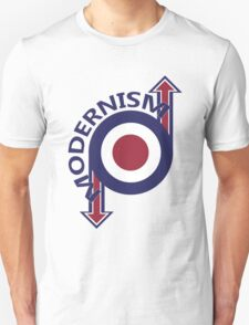 Modernism mod target and arrows T-Shirt
