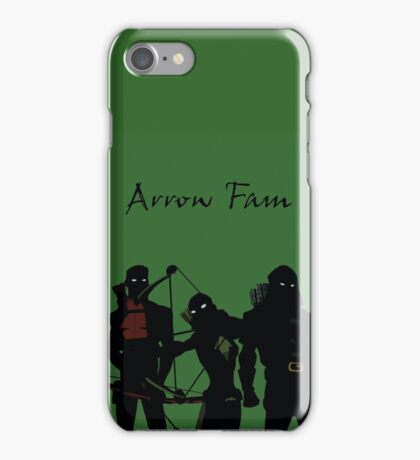 The Arrowfam in Young Justice iPhone Case/Skin
