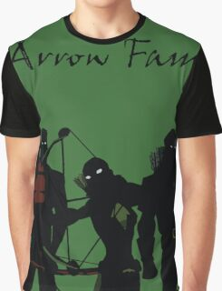 The Arrowfam in Young Justice Graphic T-Shirt