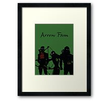 The Arrowfam in Young Justice Framed Print