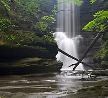X Marks the Waterfall by Adam Bykowski