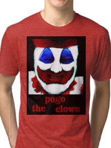 John Wayne Gacy. Hungry. Tri-blend T-Shirt