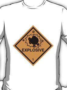 Bobomb Explosive Shipping Placard T-Shirt