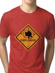 Bobomb Explosive Shipping Placard Tri-blend T-Shirt
