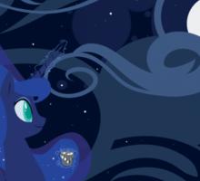 I'm a Night Scene kind of Pony Sticker