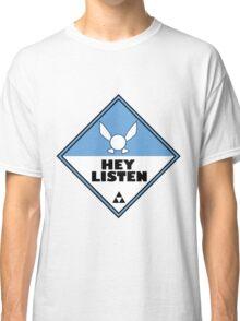 Navi Zelda Shipping Placard Classic T-Shirt